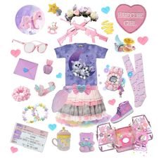"""▽ Go Kawaii or Go Home △"" by kyandi on Polyvore"