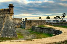 5. Beach scene: St. Augustine, Florida. I love being back on the East coast with history & thunderstorms.