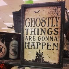 Ghostly things are gonna happen quotes quote halloween halloween pictures happy halloween halloween images halloween quotes ghostly