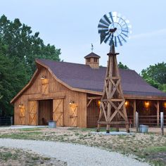 Awesome barn.