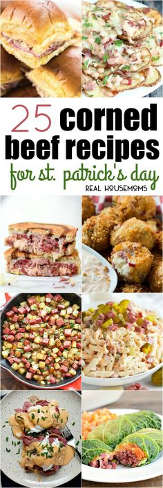25 Corned Beef Recipes for St. Patrick's Day - Real Housemoms