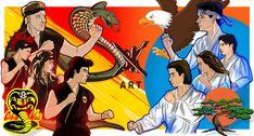 The Karate Kid 1984, Karate Kid Movie, Karate Kid Cobra Kai, Cobra Kai Wallpaper, Kai Arts, Cobra Kai Dojo, Night Sky Photos, Kids Fans, Ralph Macchio