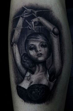 Puppet Tattoo | Best tattoo design ideas