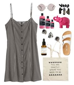 """Beauty"" by bunnybianca ❤ liked on Polyvore featuring H&M, Le Specs, Mario Luca Giusti, Topshop, Le Labo, classic, soft, natural and simpleset"