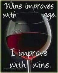 Wijn motto
