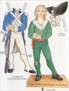 French Revolution Paper Doll