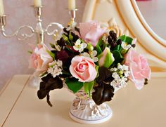 Hey, I found this really awesome Etsy listing at https://www.etsy.com/listing/224848470/flower-arrangements-home-decor-bouquet
