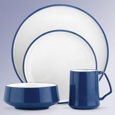 Kobenstyle Blue 4-Piece Dinnerware Place Setting by Dansk®