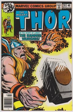 Thor Marvel Comics #281 Vol1 VF 8.0