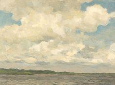 Willem Bastiaan Tholen - Wolkenlucht
