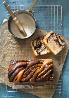 This Classic Chocolate Babka recipe is featured in the Breakfast Pastries & Baked Goods feed along with many more. Baking Flour, Bread Baking, Bread Food, Scones, Babka Recipe, Chocolate Babka, Dessert Bread, Beignets, Food 52
