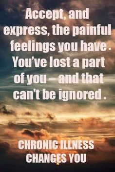 Acceptance....the hardest part for me. #pain #chronicpain #illness
