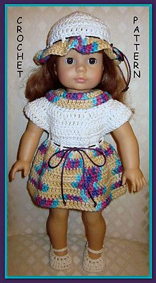 CROCHET-PATTERN-to-make-doll-clothes-designed-for-18-dolls-like-American-Girl