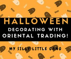 Halloween Decorating With Oriental Trading @OrientalTrading @SMGurusNetwork