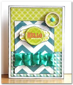 Emma's Paperie: August Color Challenge by Jill Cornell