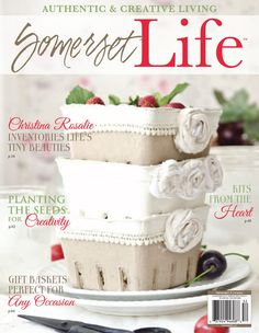 Get the latest Creative Living Ideas and make every day artistically extraordinary with the Summer 2015 Somerset Life