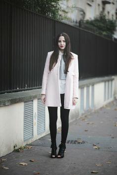 Pale Grey & Light Pink