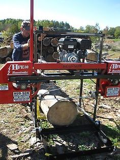 2015 Hud-son Forest Hfe 30 Portable Sawmill Portable Bandmill Band Mill