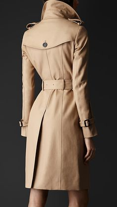 Double Cotton Trench Coat | Burberry