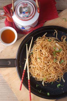 Dim Sum Soy Sauce Chow Mein (Noodles)