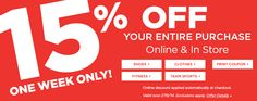 Sporting Goods at Sports Authority - Print Coupon at site