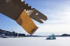 Flying Dragon in Oslo, Norway