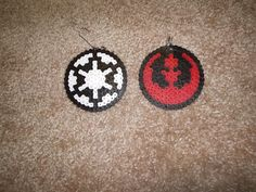 Star Wars Christmas Ornaments Rebel and Empire by Zeldalicious, $5.00