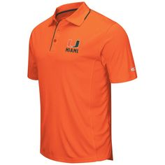 #BFCM #CyberMonday #Fanatics.com - #Colosseum Miami Hurricanes Colosseum Maestro Polo - Heathered Orange - AdoreWe.com