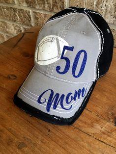 3fc0bce06b5 Customized Football Mom Cap