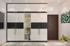 Wardrobes - Interior Design Architect in Bangalore - Home Decors in Bangalore Master Bedroom Wardrobe Designs, Wall Wardrobe Design, Wardrobe Interior Design, Wardrobe Door Designs, Wardrobe Room, Bedroom Cupboard Designs, Bedroom Closet Design, Interior Design Business, Bedroom Furniture Design