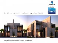 Top Interior Design - Architecture Jeddah Housing Complex - Saudi Arabia