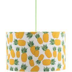 Rosa & Clara Designs - Piña Lamp Shade Large (€105) ❤ liked on Polyvore featuring home, lighting, retro lighting, energy efficient lighting, handmade lamps, retro lamp shade and retro lamp