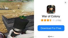 This mobile game used a video of Mount and Blade as its advertisement.