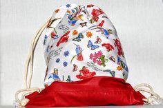 Guarda questo articolo nel mio negozio Etsy https://www.etsy.com/it/listing/474639487/zaino-con-fantasia-a-farfalle