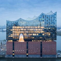 Herzog & de Meuron's Elbphilharmonie concert hall, Hamburg, Germany