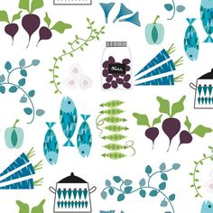 Jenny Wallmark|Scandinavian Pattern Collection|Scandinavian Pattern Collectionは、テキスタイルパターンを中心とした北欧デザインコレクションです。