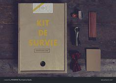Agency Survival Kit - Kit de Survie en Agence / Identity / Web design / Web development / Packaging / Graphic Design / Photography
