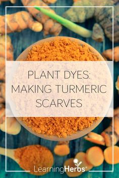 Love Plant Dyes? Try Making Turmeric Scarves Medicine Garden, Herbal Medicine, Healing Herbs, Natural Healing, Herbal Remedies, Natural Remedies, Curcuma Plant, Natural Dye Fabric, Plant Crafts