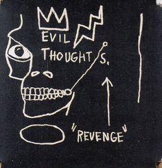 Jean Michel Basquiat Black & White Pinterest Jean