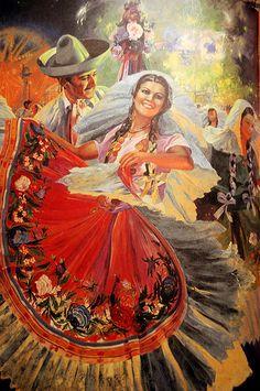 Retro México: fiesta en Tehuantepec