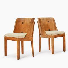 "32 gilla-markeringar, 0 kommentarer - Uppsala Auktionskammare (@uppsalaauktionskammare) på Instagram: ""A pair of Axel Einar Hjorth ""Lovö"" stained pine armchairs sold at our Modern & Contemporary Sale in…"""