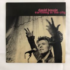 David Bowie Earthling In The City GQ Promo CD | Music, CDs | eBay!