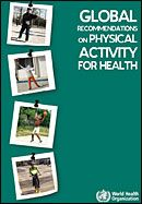 Cover of publication: Recommendations for physical activity