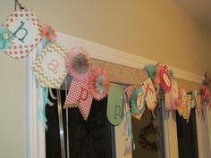 Happy Birthday Banner made by Nancy Sutton with the new Simply Create Banner kit by Stampin' Up!