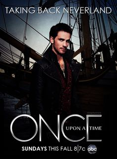 Once upon a time - Captain Hook - Colin O'donoghue - Killian Jones