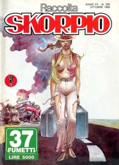 Fumetti EDITORIALE AUREA, Collana SKORPIO RACCOLTA n°205