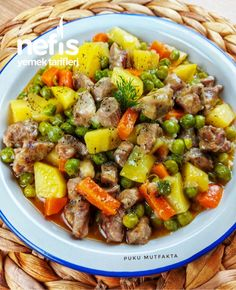 Turkish Recipes, Ethnic Recipes, American Dinner, Iftar, Pot Roast, Food Dishes, Dinner Recipes, Yummy Recipes, Food And Drink