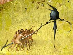 The Garden of Earthly Delights, - Detail