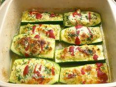 » Zucchini umpluti cu crema de branzaCulorile din Farfurie Zucchini, 30 Minute Meals, Food And Drink, Cooking Recipes, Vegetables, Breakfast, Salads, Morning Coffee