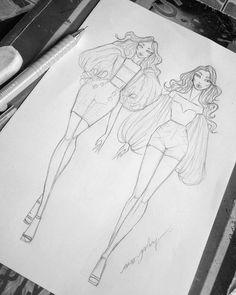 Fashion Illustration Tutorial, Fashion Drawing Tutorial, Fashion Figure Drawing, Fashion Model Drawing, Fashion Drawing Dresses, Fashion Illustration Dresses, Dress Design Drawing, Dress Design Sketches, Fashion Design Sketchbook